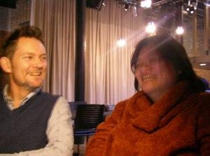 With Greg Cowan