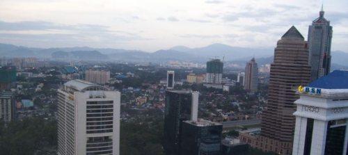 Part of Kuala Lumpur skyline