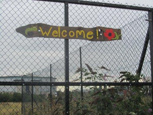 Colourful Meantime Nursery Sign
